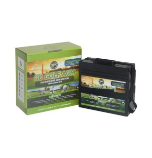 LG-A250 TBAR 22AH (WITH T-BAR & STRAP) SLIMLINE DEEP CYCLE GOLF BATTERY